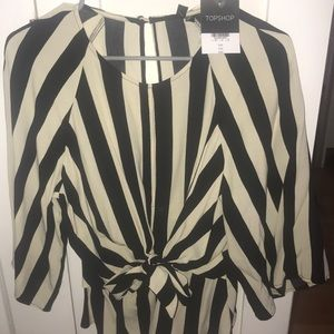 NWT Top Shop blouse